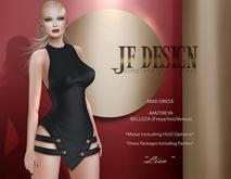 "JF Design ""Lisa"" [Maitreya/Belleza]Mini Dress/Panties - Black"