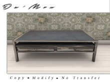 .::De'Mon::. Coffee Table - Reclaimed Wood