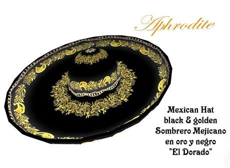 El Dorado Mexican hat/ Sombrero mejicano (Boxed)