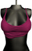 DE Designs - Lisa Crop Tank - Hot Pink