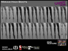promo - SS - MIRIAM HIGH BOOTS - DEMO