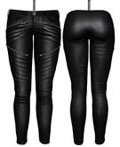 DE Designs - Dawn Leather Pants - Black