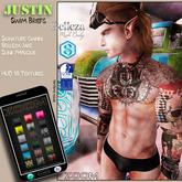 zOOm - Justin Swim Briefs - SIGNATURE, BELLEZA JAKE AND SLINK - Hud 18 Textures!