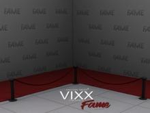 -VIXX- Mesh backdrop - Fame