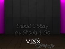 -VIXX- Mesh backdrop - Stay or Go