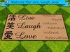 Mat live laugh love 1 mp