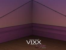 -VIXX- Mesh backdrop - She