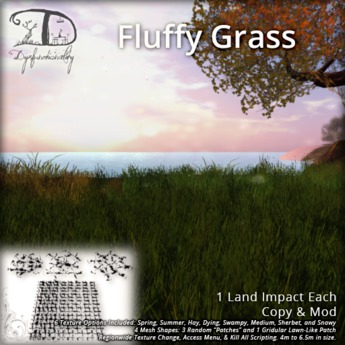 [DDD] Fluffy Grass - Regionwide Texture Change!