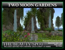 THE BEAUTY SPOT* 3 Landscaped Waterfalls and 2 Streams