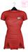 Ec.cloth - Self stripe lazy dress - Red