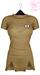 Ec.cloth - Self stripe lazy dress - Sand