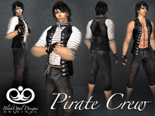 Pirate Crew Outfit - Black