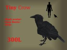 Tiny Crow - Mesh avatar