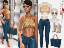 PROMO! Bens Boutique - Lady Gold Outfit Maitreya,Slink(all),Belleza(all)