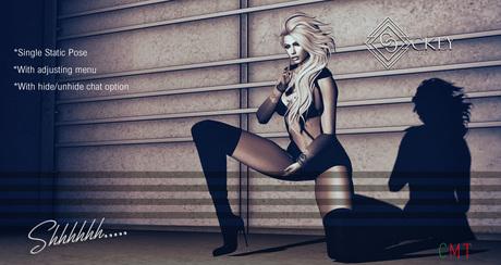 CKEY Poses - Shhhh..... (Single Female Static Pose)