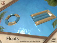 Floats (80 animations, single & couple)