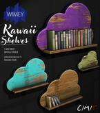 Wimey: Kawaii Shelf White