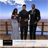 KJIm Poses: Wedding Pose Set - Groom & Parents