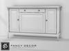 Fancy Decor: Crawford Cabinet (white)