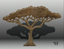 Wood Sculpture 009 Tree