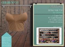 "Addams ""Betina"" Mesh V-Neck Top for Maitreya, Belleza, Slink #35"