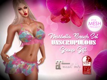 Unscrupulous FREE Group GIFT ♥  Marbella Top & SKirt Freebie
