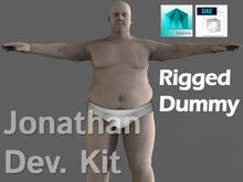 Jonathan Dev. Kit - Rigged Dummy