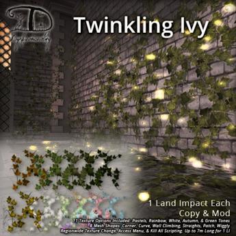 [DDD] Twinkling Ivy - Tex. Change, 1 LI, Sparkling Vines