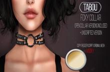 TABOU. Foxy Collar  - Black-Gold(ADD!)