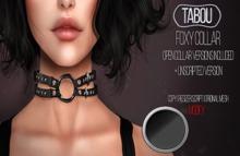 TABOU. Foxy Collar  - Black-Onyx(ADD!)