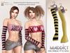 Maddict - Maddy Bento Gloves - Yellow Set - Maitreya Bento