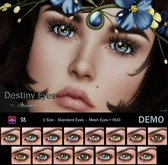 MESANGE - Destiny Eyes BEAUTY PACK