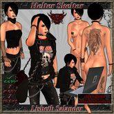 ~ HeLtEr SkElTeR ~ Lisbeth Salander KOMPLETTER AVATAR - Stieg Larsson - Millenium - Goth