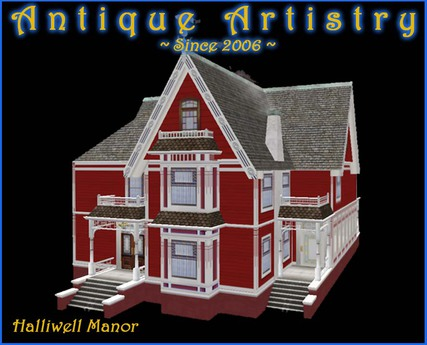 Second Life Marketplace Halliwell Manor A Charmed Victorian Home