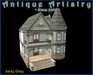 """PREFAB """"Lady Gray"""" Painted Lady Home from ANTIQUE ARTISTRY"""