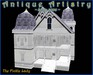 """PREFAB """"The Fickle Lady"""" Low Prim Queen Anne House -- comes with many texture choices - from ANTIQUE ARTISTRY"""