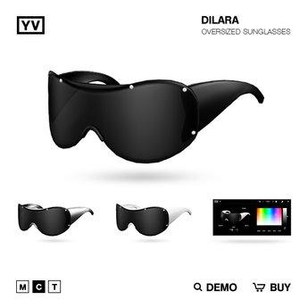 YV - DILARA - OVERSIZED SUNGLASSES