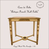 {CdB} Antique French Hall Table
