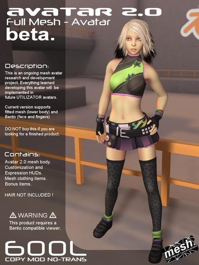 <UTILIZATOR> - Avatar 2.0 - beta