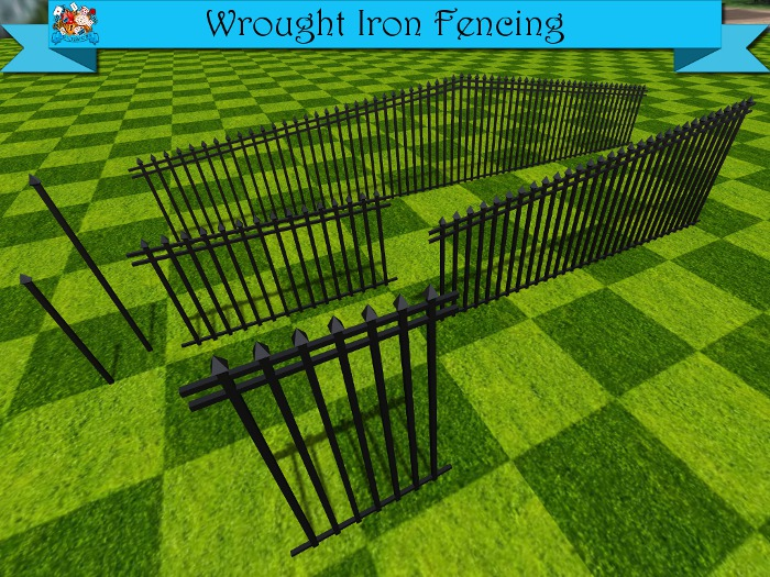 TD Creations - Wrought Iron Fencing