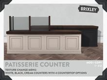 [Brixley] Patisserie Counter