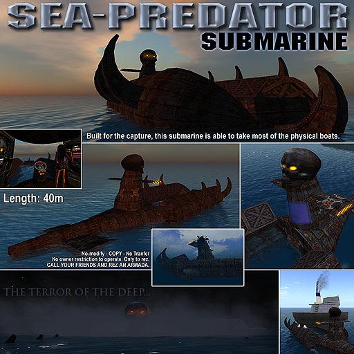 Submarine: Sea-Predator
