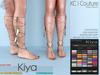 -KC- KIYA JEWELS / BAREFEET / MAITREYA, BELLEZA & SLINK BODIES