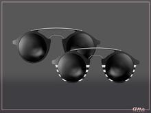 A N E Glasses - Tehe Sunglasses - Onyx