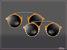 A N E Glasses - Tehe Sunglasses - Apricot