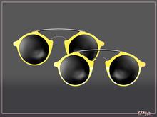 A N E Glasses - Tehe Sunglasses - LEMON
