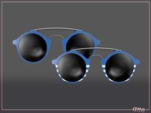 A N E Glasses - Tehe Sunglasses  - Sky Blue