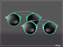 A N E Glasses - Tehe Sunglasses - Teal