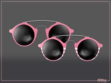 A N E Glasses - Tehe Sunglasses - Pink