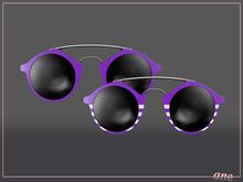A N E Glasses - Tehe Sunglasses - Plum